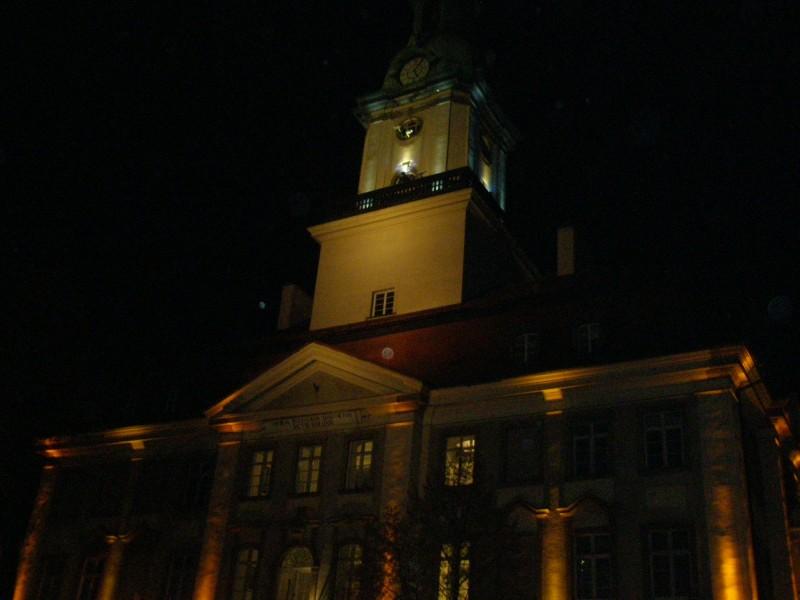 Jeleniopgórski Ratusz nocą