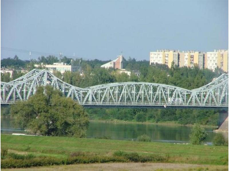 Widok na Wisłe,stary most