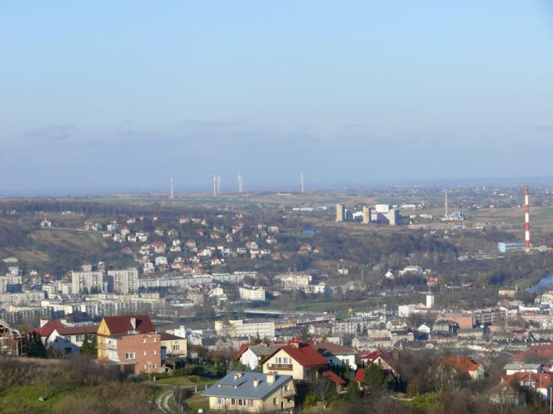Widok z Kopca Tatarskiego