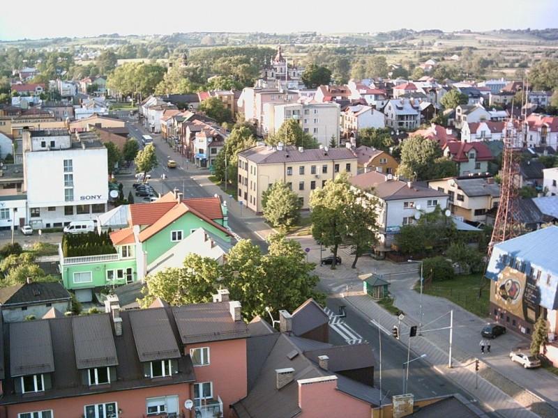 Panorama Tomaszowa Lubelskiego