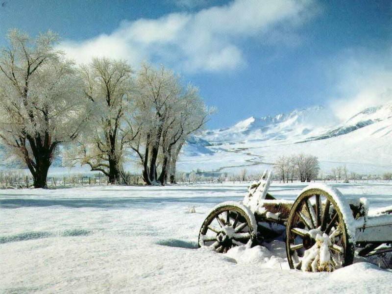 zima pod Olkuszem
