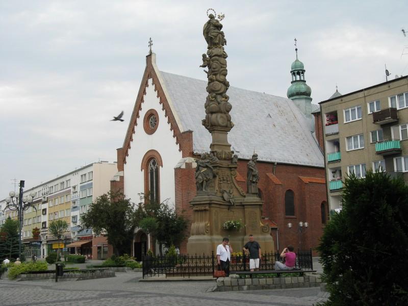 Kolumna Maryjna na rynku