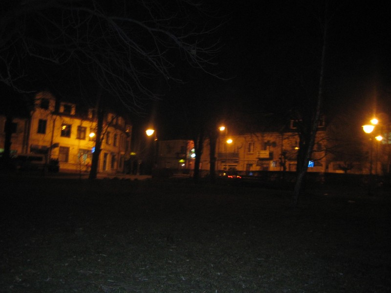 Pińczów nocą....