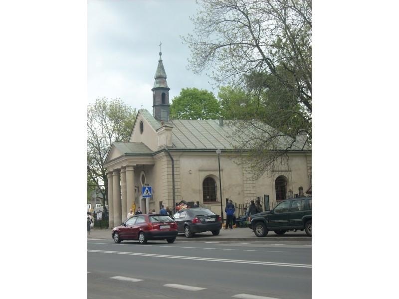 Kościółek ul. Szopena