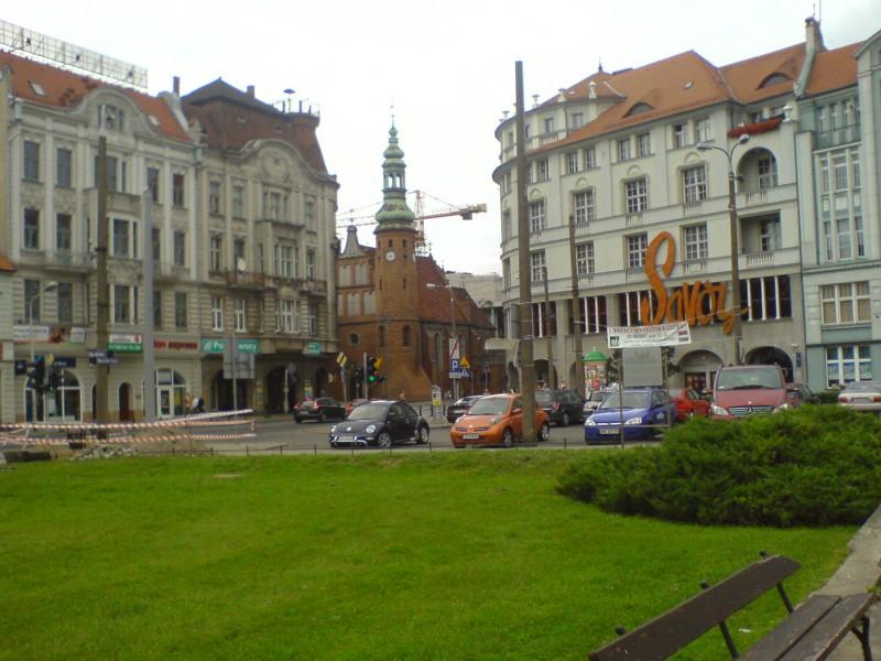 Bydgoszcz - centrum - Plac Teatralny