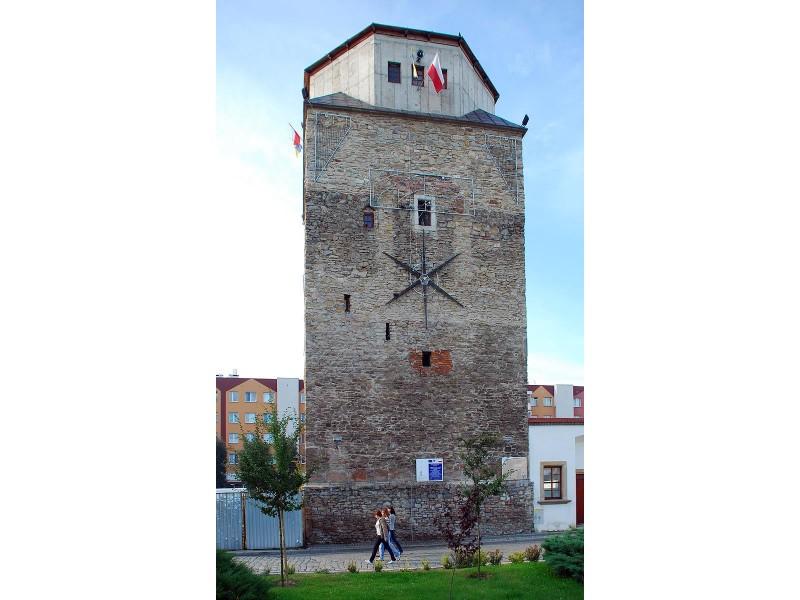 Fragment wieży ratusza