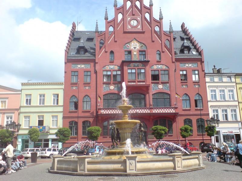 Starówka w Chojnicach