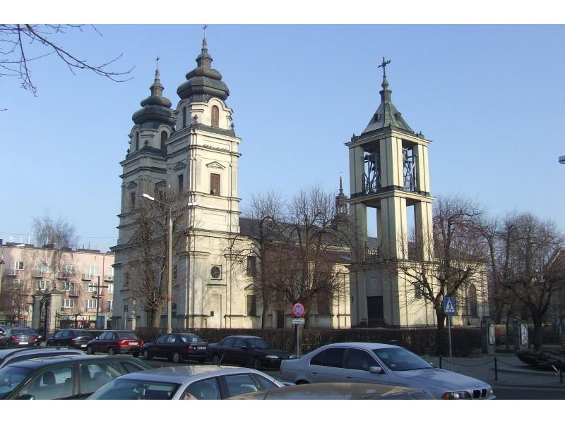 kościół św.Trójcy w Mławie