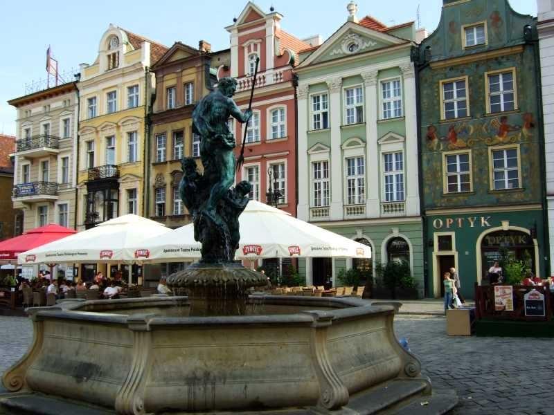 Stary Rynek - fontanna
