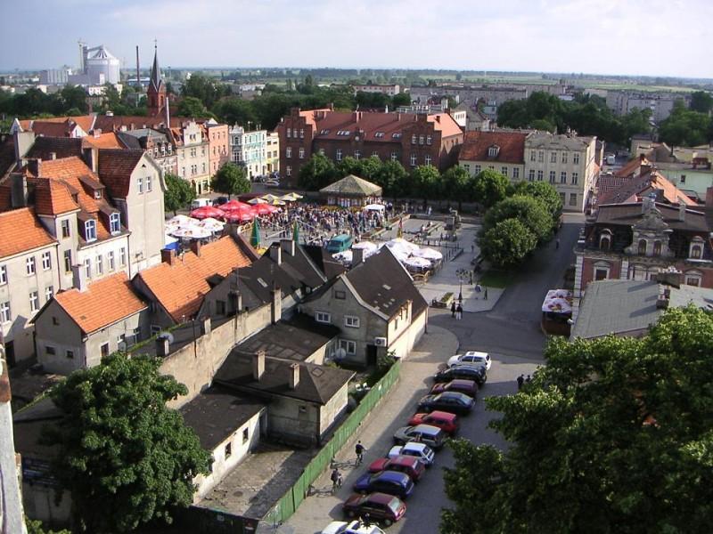 Stary Rynek w Środzie Wlkp