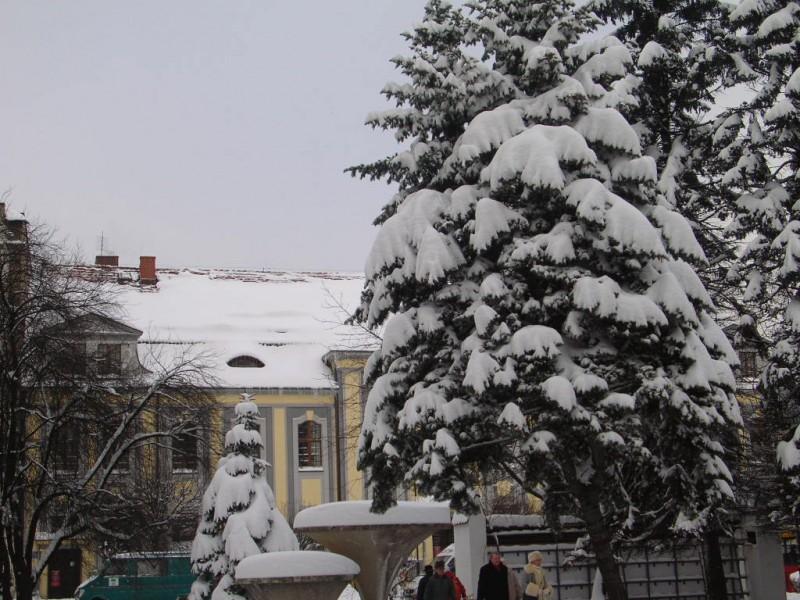 Poczta zimową porą