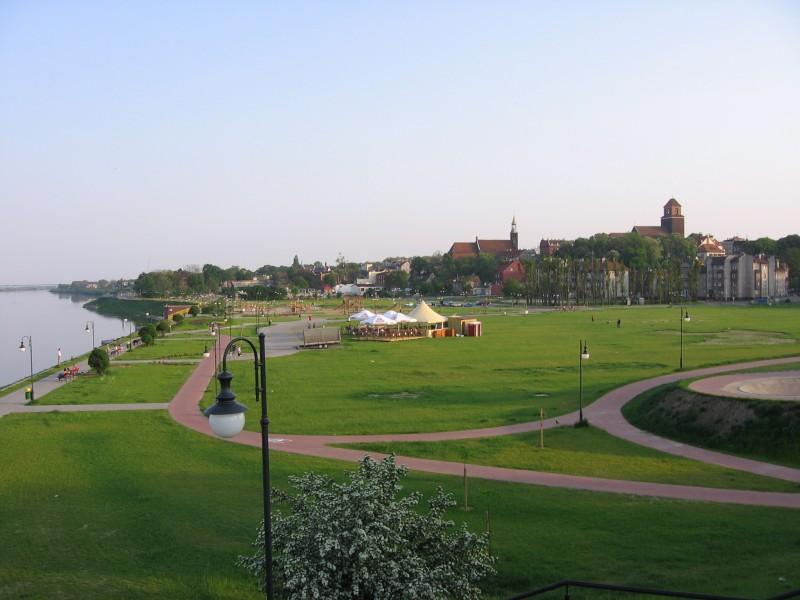 panorama Tczewa