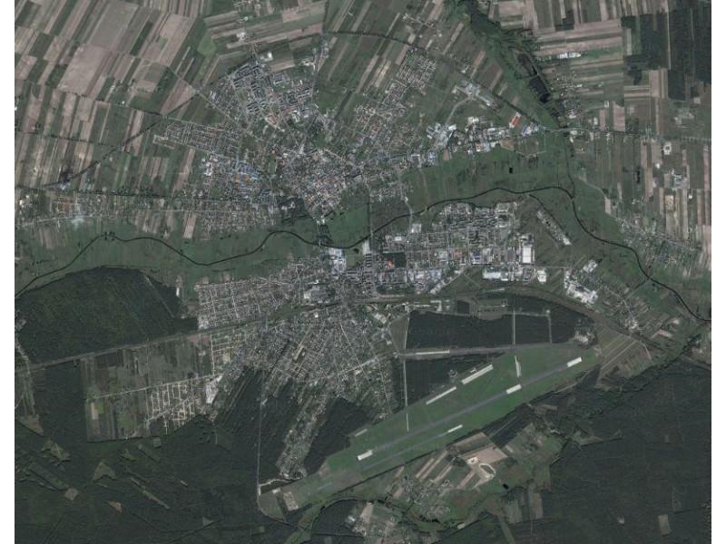 Biała Podlaska - widok z satelity