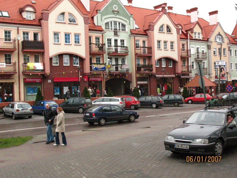 widok Ostródy