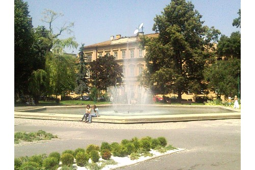Fontanna na Placu Litewskim