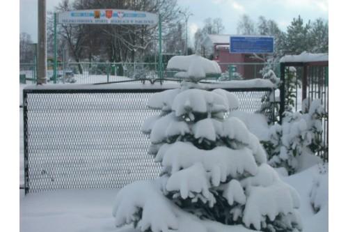 zima w parczewie