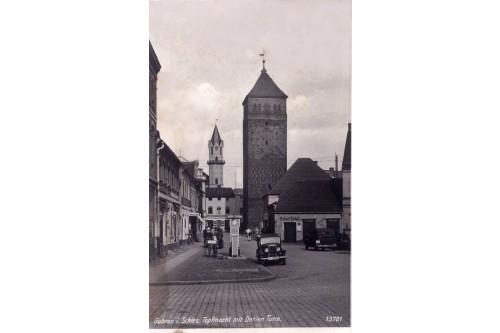Wieża Głogowska -  1937r