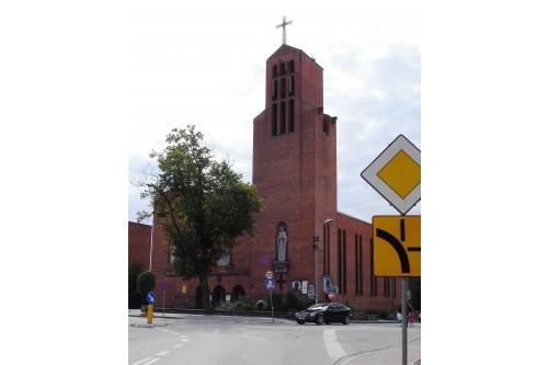 Tuchola - kościół