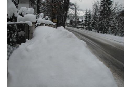 zima  w  Zakopanem