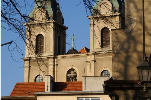 Wieże kościoła im.Podwyższ