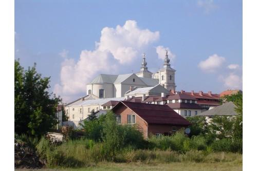Kościół - widok z łąk