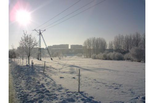 Łomżyńska zima