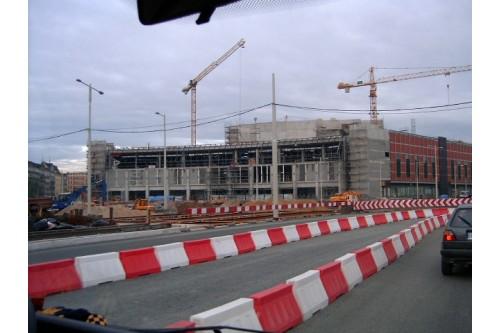 Pasaż Grunwaldzki - budowa