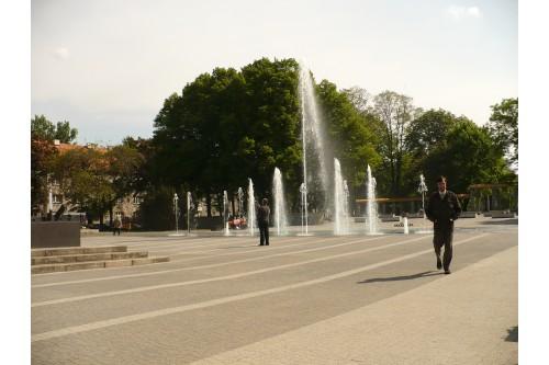 Park przy ul: Floriana.