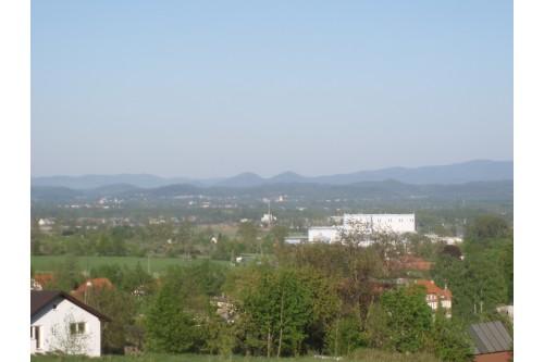 Panorama Kotliny Jeleniogorski