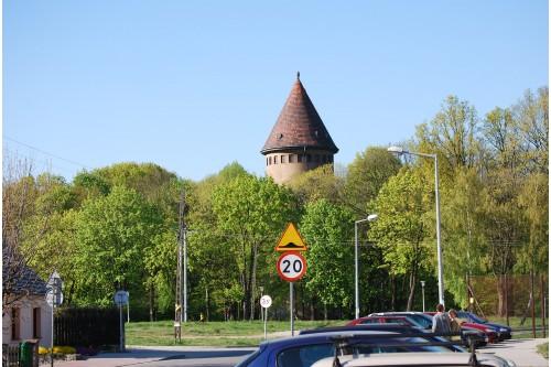 Wieża ciśnień w Parku Wolsz