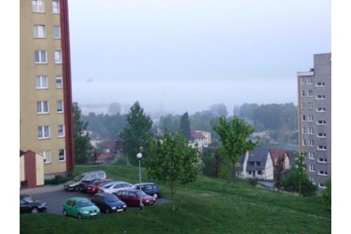 mgła nad Gdynią