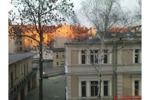 Widok z okna (ul. Fabryczna)